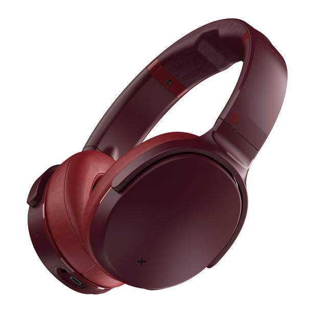 Skullcandy Venue Active Noise Canceling Bluetooth Wireless Headphones In Moab Red Walmart Com Walmart Com