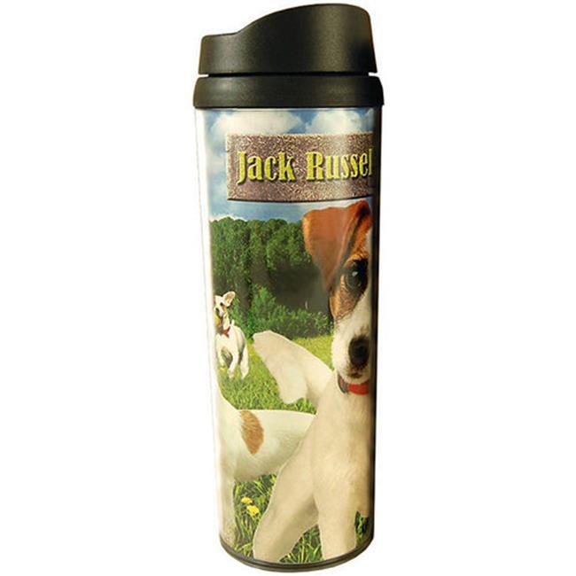 Americaware PATJRT01 Jack Russell Terrier Travel Tumbler
