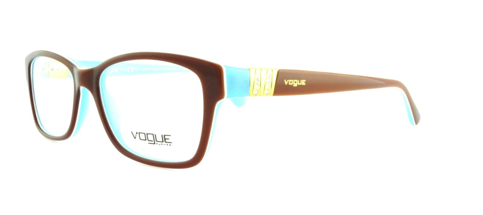 Vogue Eyeglasses VO3944B 811 Dark Brown 54 18 135