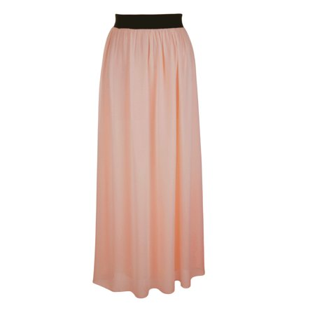 - Faship Women Long Retro Pleated Maxi Skirt