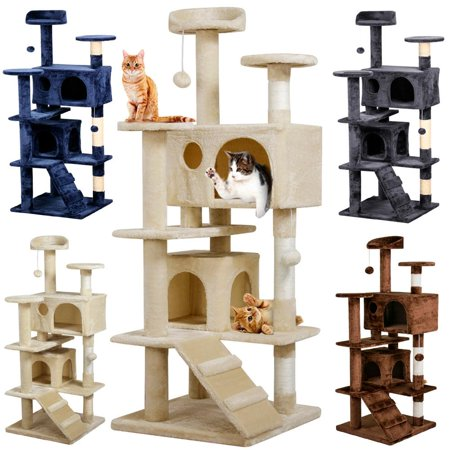Yaheetech 53 5Cat Kitten Tree Tower Scratch Pet House