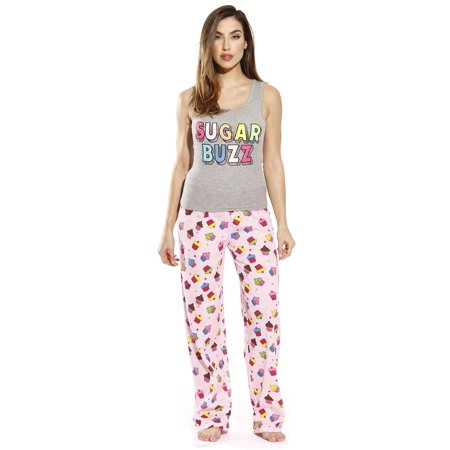 Just Love - Just Love Cotton Tank   Pant Pajama Set (Cupcake Dots ... 2cb273178