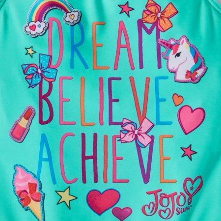 6a6e9a55083b8 JoJo Siwa Girls  1 Piece Swimsuit - Best Little Girls One-piece ...