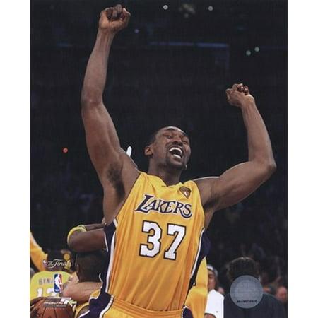 Ron Artest - 2010 NBA Finals Game 7 Celebration (2010 Nba Finals Game 7 Box Score)