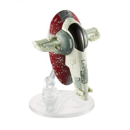 Hot Wheels Star Wars Starships Boba Fett's Slave 1 Vehicle Boba Fett Slave 1 Vehicle