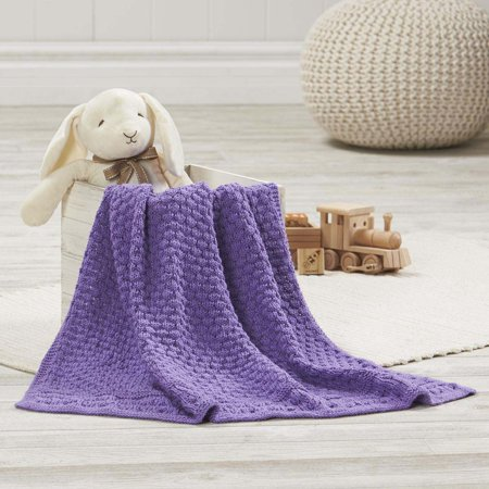 Bell Heather Blanket Knit Pattern
