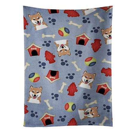 Carolines Treasures BB4004KTWL Dog House Collection Shiba Inu Kitchen Towel - image 1 of 1