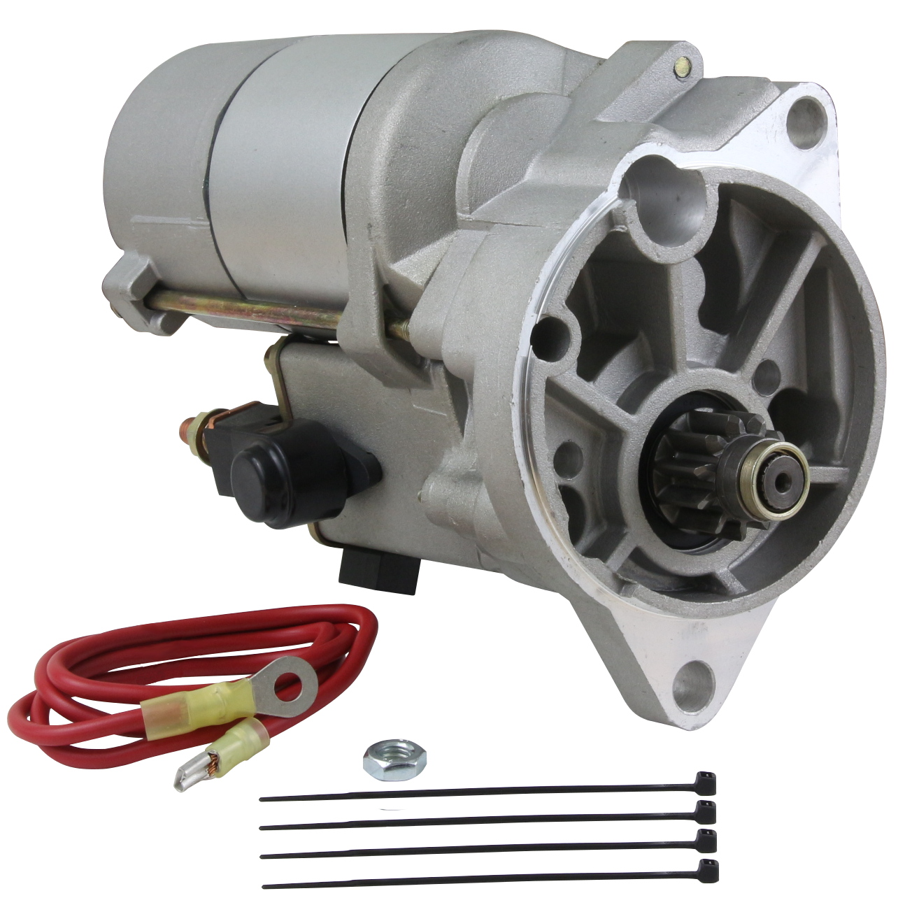 NEW HIGH TORQUE GEAR REDUCTION STARTER FITS FORD BRONCO V8 66-77 D6OZ-11002-A