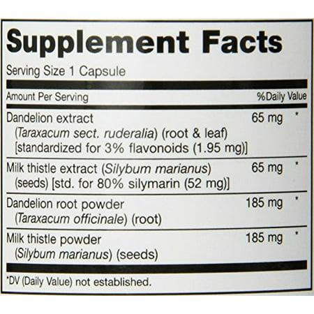 Maxi Health Livamax   Liver Formula   With Milk Thistle And Dandelion Root   120 Capsules   Kosher