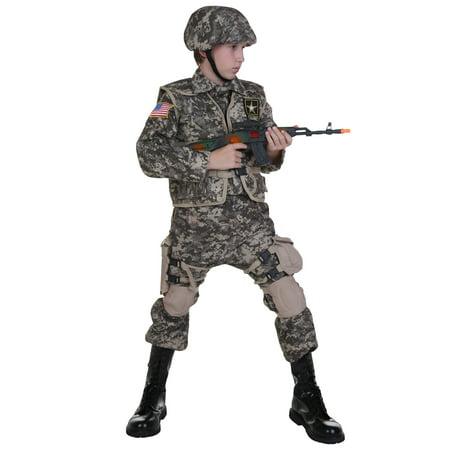 Kids Deluxe Army Ranger