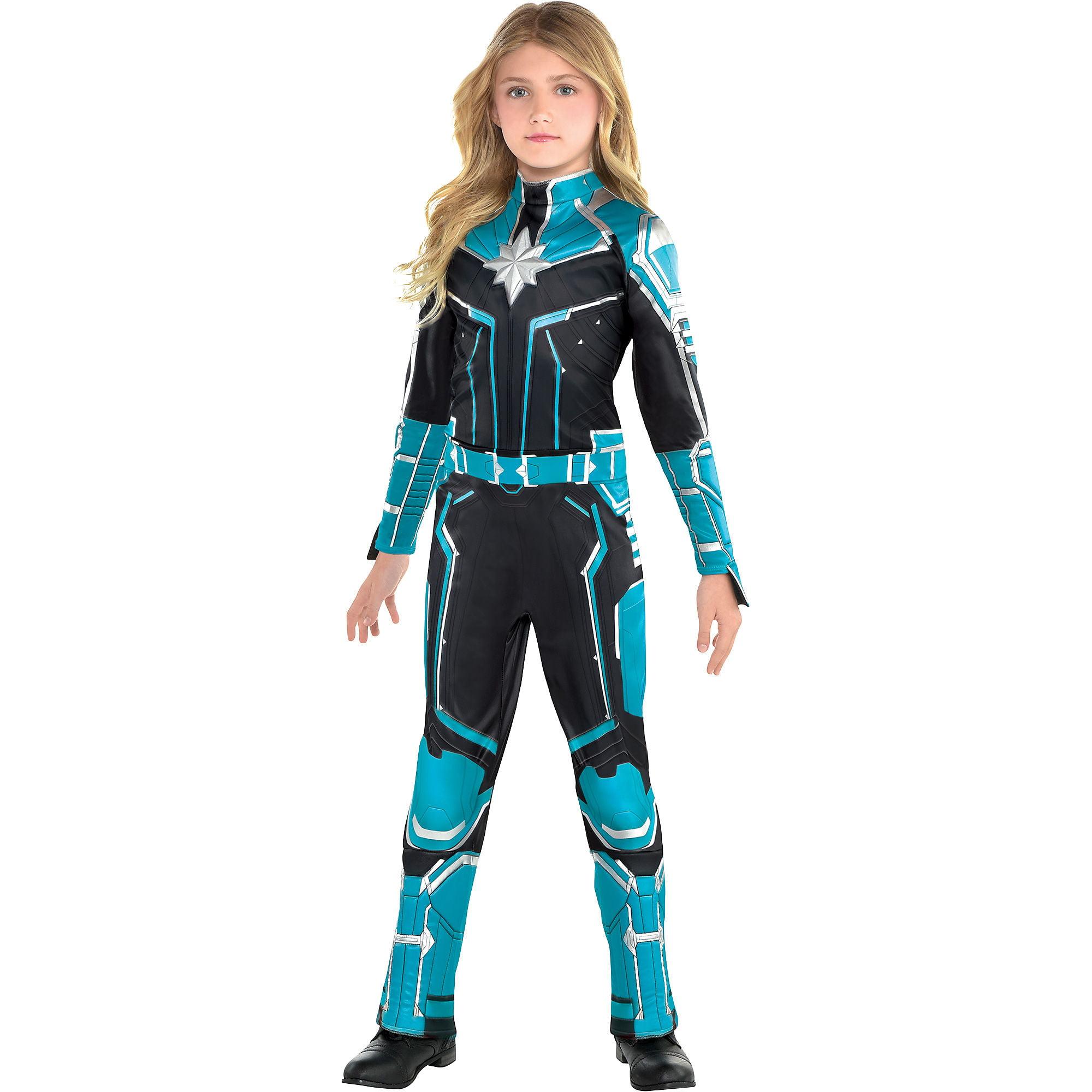 Captain Marvel Starforce Halloween Costume For Girls