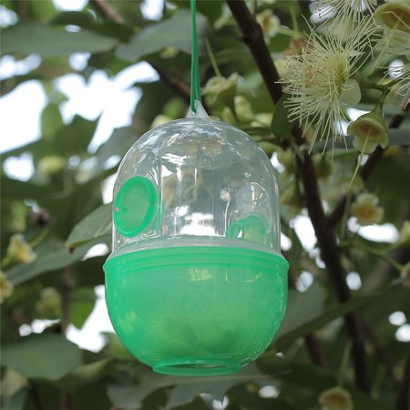 Outdoor Hanging Wasp Trap Catcher Flies Bee Trapper Pest Repeller Insect Killer Reject Tools](Snl Killer Bees)