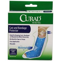 Curad Cast Protector Adult Leg, 2 Count
