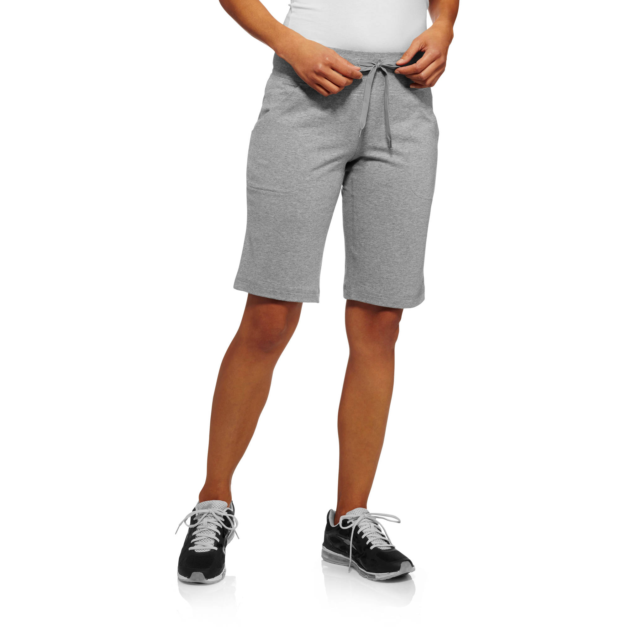 "Danskin Now Women's Dri-More 12"" Bermuda Shorts"