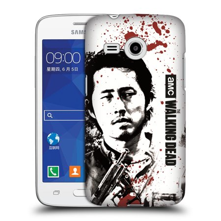 OFFICIAL AMC THE WALKING DEAD GORE HARD BACK CASE FOR SAMSUNG PHONES 6](Blood Gore)