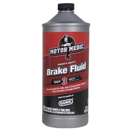 Motor Medic By Gunk M4432 Dot 3 Heavy Duty Brake Fluid