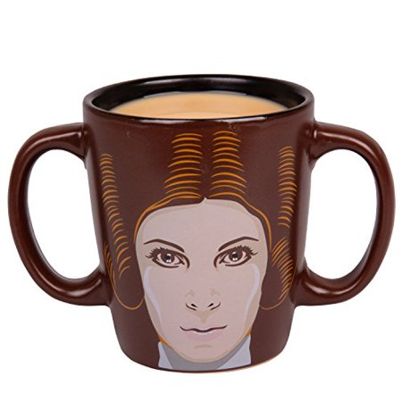 Pheasant Ceramic Handle (Star Wars Princess Leia Double Handled Ceramic Coffee Mug - 11 oz)