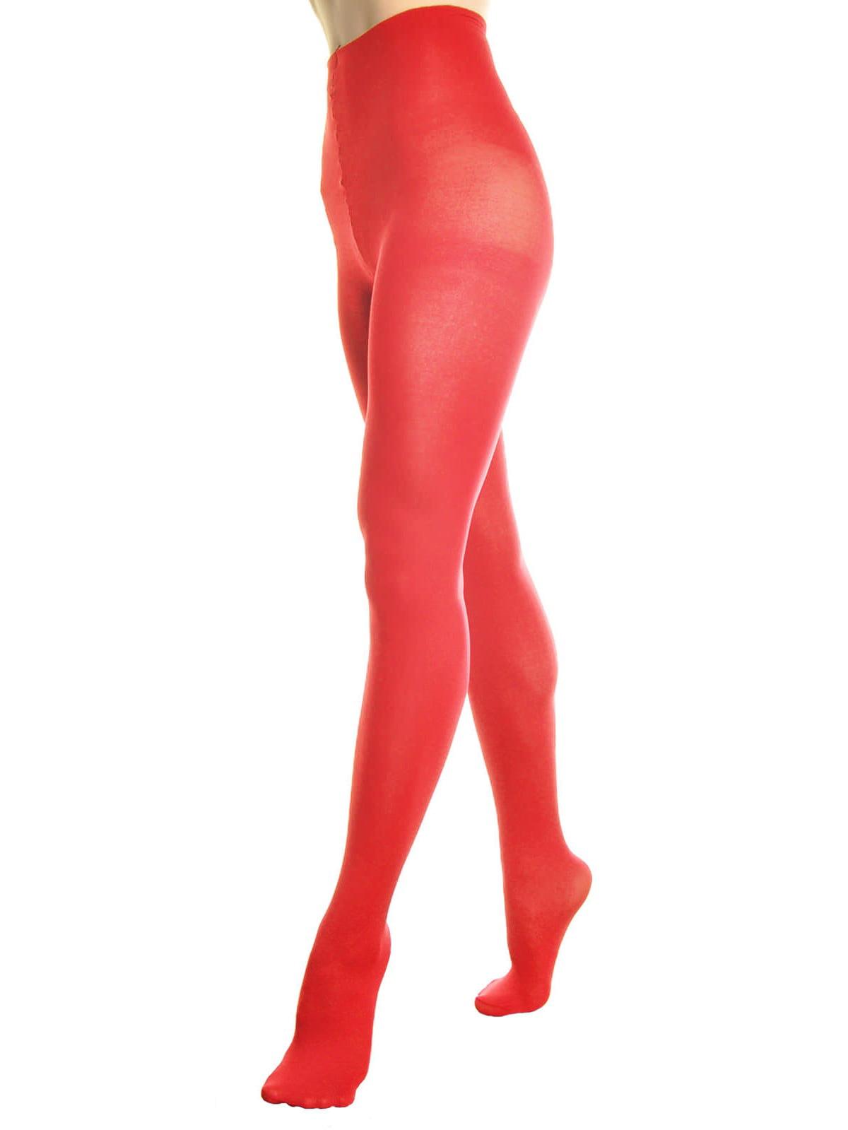 Hanes Raisin//Dark Red Control Top Tights Matte Opaque 0B406 MSRP $12