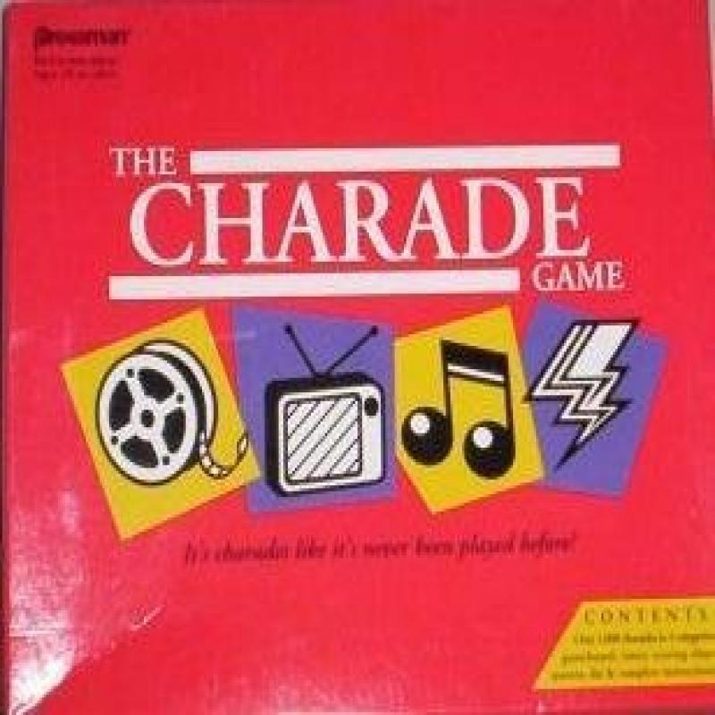 The Charade Game Pressman Toy by