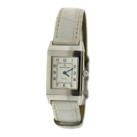 Pre-Owned Jaeger Lecoultre Reverso 260.8.08 Steel 20mm Women Watch (Certified Authentic & (Jaeger Lecoultre Ladies)