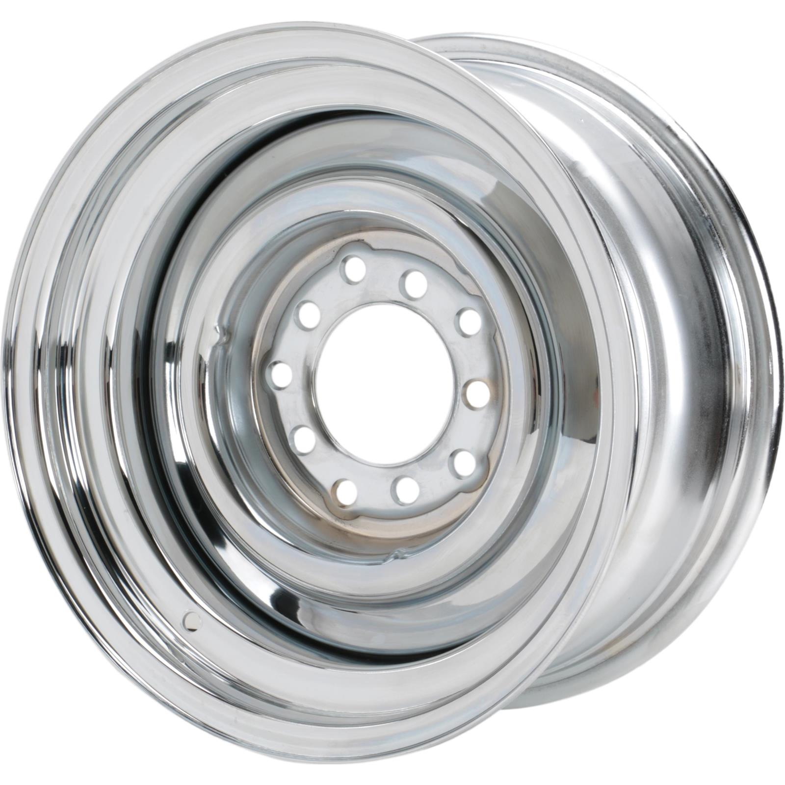 Speedway Smoothie 15x7  Steel Wheel, 5 on 5/5.5, 4.0 BS