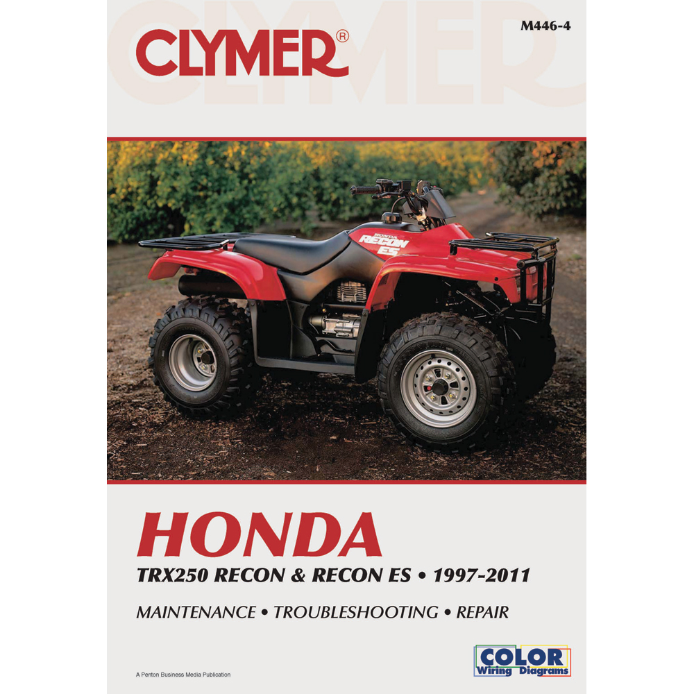 CLYMER HONDA TRX250 RECON AND RECON ES 1997-2011 M446-4