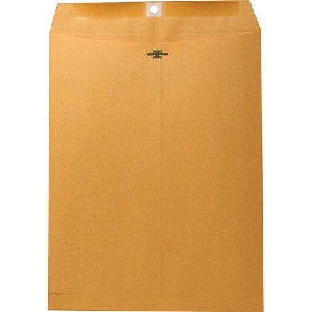 Nature Saver, NAT00858, Recycled Clasp Envelopes, 100 / Box, (Nature Saver Recycled Envelopes)