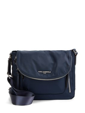 Cara Nylon Flap Messenger