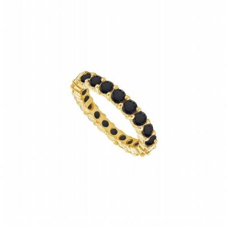 UB14YR100BD2263-101RS8.5 Black Diamond Eternity Band 14K Yellow Gold, 1.00 CT - Size 8.5 ()