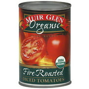 Muir Glen Organic Diced Fire-Roasted Tomatoes, 14.5 oz (Pack of 12)