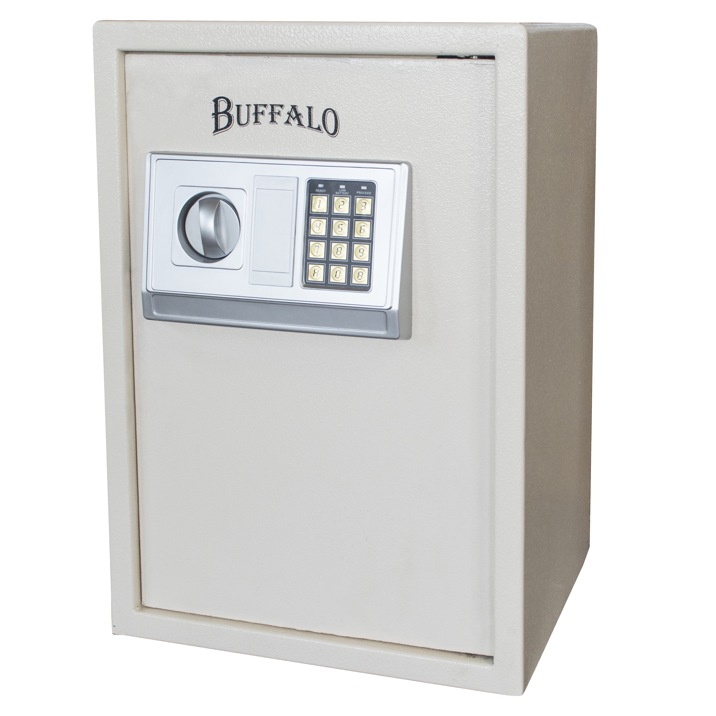 Buffalo Outdoor Electronic Floor Safe - Beige