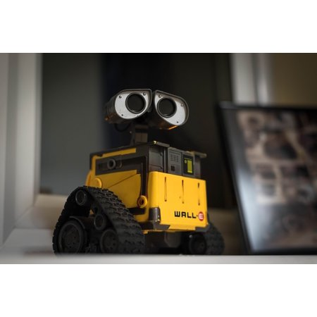LAMINATED POSTER Toy Movie Pixar Technology Robot Wall E Figure Poster Print 24 x 36