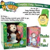 Potty Monkey and Potty Monkey Watch for Best Potty Training Success