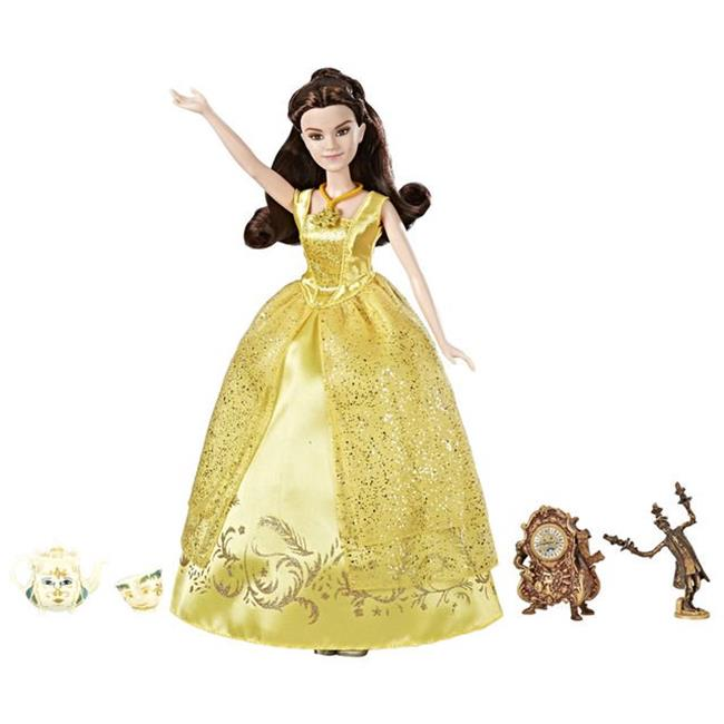 Hasbro HSBC3981 Disney Princess Beauty & the Beast Deluxe Castle Friends Collection Set