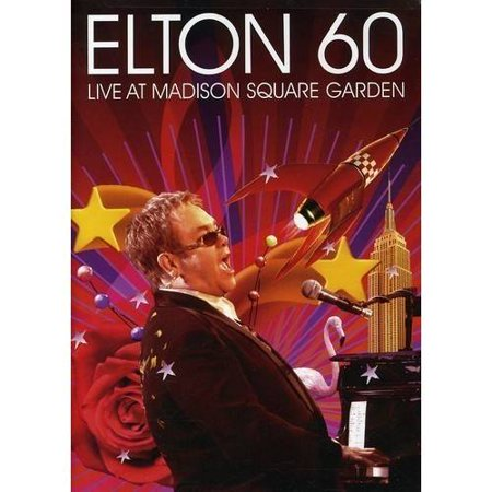 Elton 60 Live At Madison Square Garden 2 Disc Music Dvd