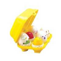 TOMY Toomies Hide And Squeak Eggs, Matching & Sorting Learning Toys For Babies and Toddlers, 6m+