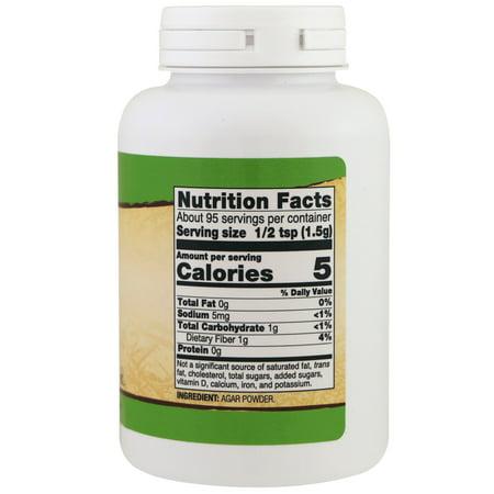 Best Agar Now Foods 5 oz Powder deal
