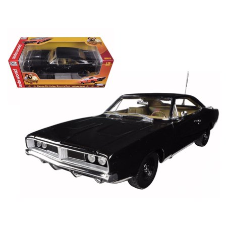 Upc 849398007334 1 18 69 Black Happy Birthday General Lee Charger