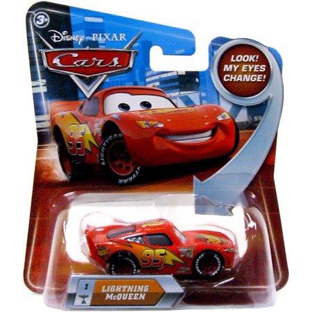 Disney Cars Lenticular Eyes Series 2 Lightning McQueen Diecast Car](Lightning Mcqueen Cars 2)