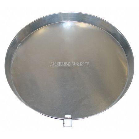 Water Heater Pan, 20 In, Aluminum ZORO SELECT QP-20