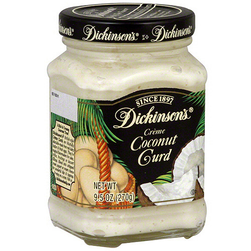 T.N. Dickinson's Coconut Creme Curd, 9.5 oz  (Pack of 6)