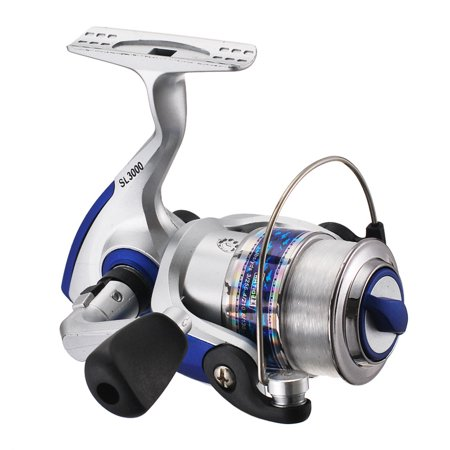 Spinning Wheel Strong Metal Bearings Drum Fishing Reel Fishing Tool for Boat Ocean Fishing Type 7000 (with line (Boat Reel)