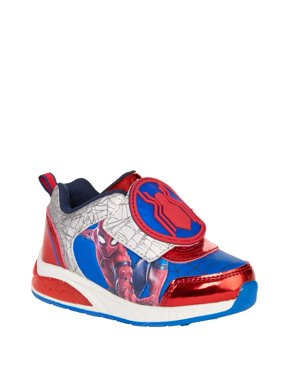 Boy's Spiderman Lighted Athletic Shoes