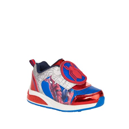 Boy's Spiderman Lighted Athletic Shoes](Spiderman Shoes With Lights)