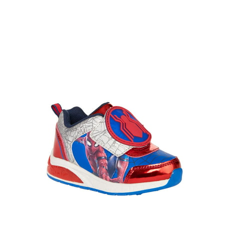 Boy's Spiderman Lighted Athletic Shoes - Spiderman Light Up Sneakers