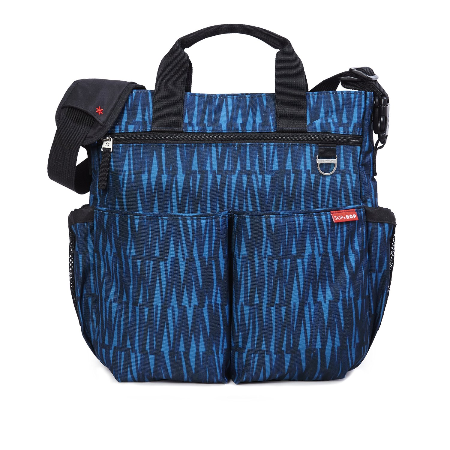 Skip Hop Duo Signature Carry All Travel Diaper Bag Tote with Multipockets, One Size, Blue Graffiti� by Skip Hop