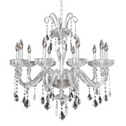 Allegri by Kalco Lighting Clovio 10 Light Crystal Chandelier