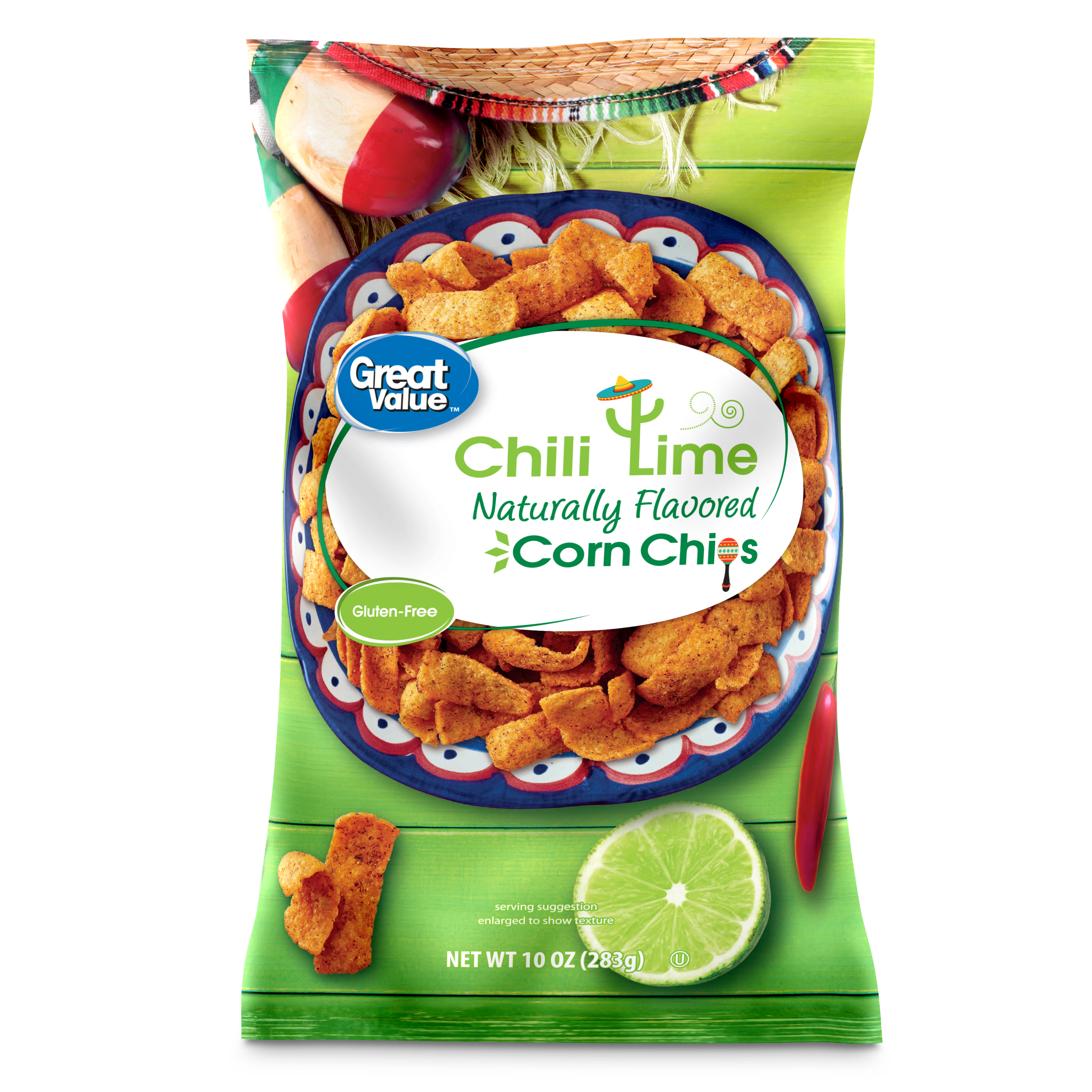Great Value Chile Lime Corn Chips