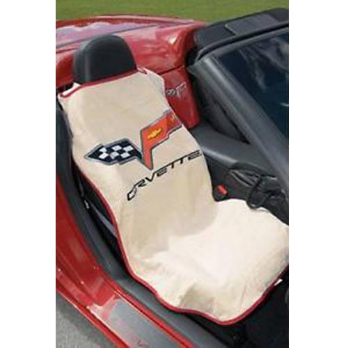 SeatArmour Corvette C6 Tan Seat Armour