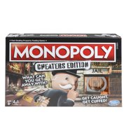Monopoly Game: Cheaters Edition, for Ages 8 and Up